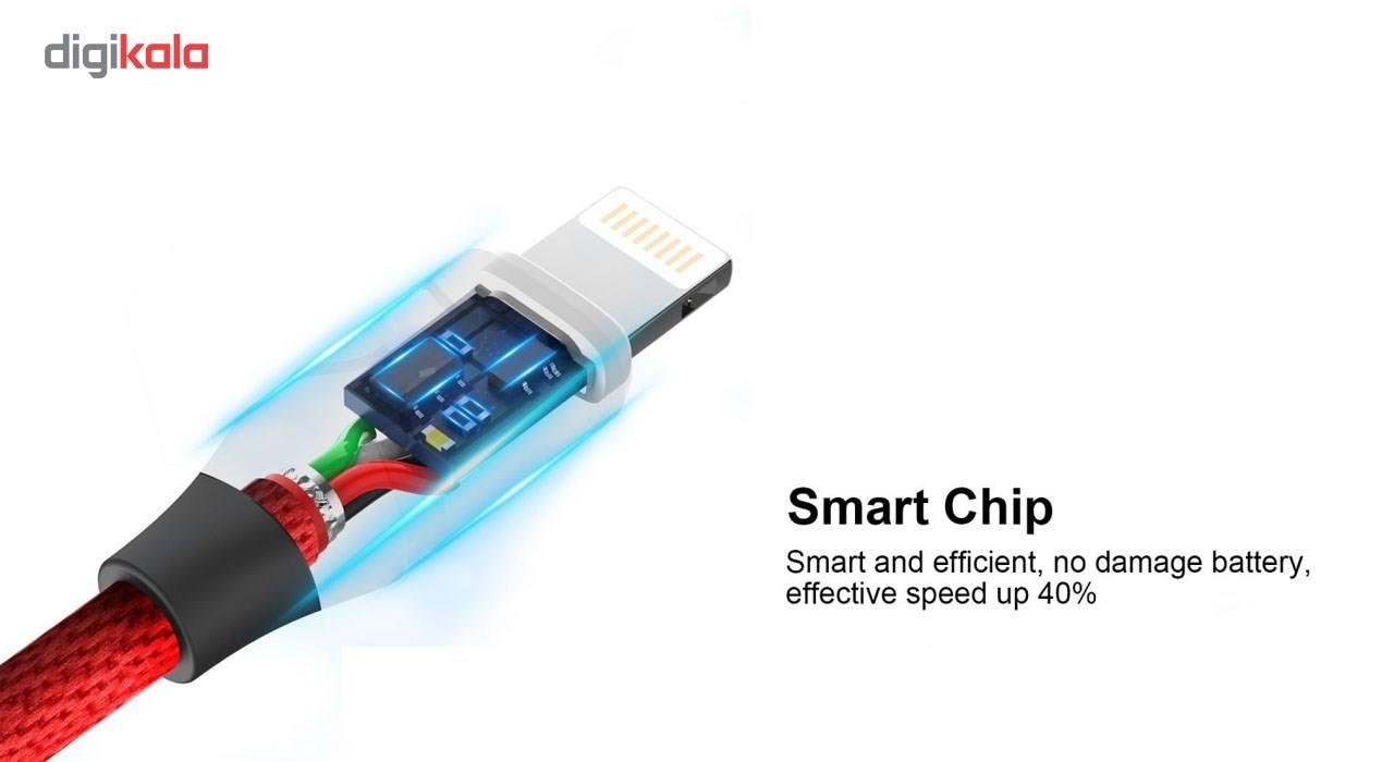 کابل تبدیل USB به لایتنینگ آیفون آیماس مدل Cotton به طول 1.8 متر main 1 13
