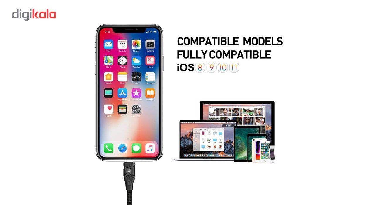 کابل تبدیل USB به لایتنینگ آیفون آیماس مدل Cotton به طول 1.8 متر main 1 9
