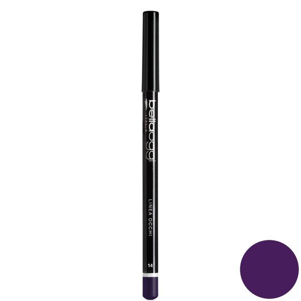 مداد چشم رنگی  بلاوجی مدل LINEA OCCHI 014 شماره glossy violet 014