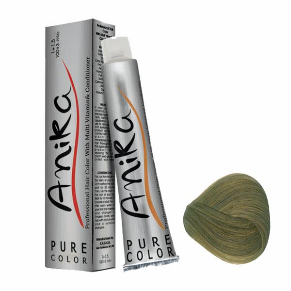 رنگ مو آنیکا سری مات مدل بلوند زیتونی تیره شماره 6.3
