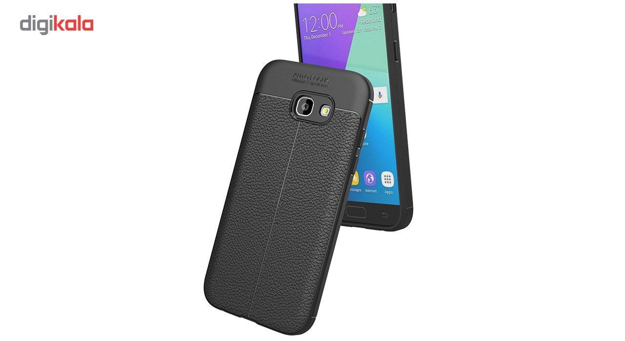 کاور ژله ای طرح چرم مناسب برای گوشی موبایل سامسونگ A7 2017 main 1 1