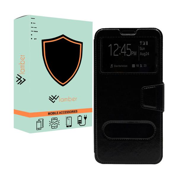 کیف کلاسوری لمبر مدل LAMKELAS-2 مناسب برای گوشی موبایل سامسونگ Galaxy Grand Prime/Grand Prime Plus/J2 Prime