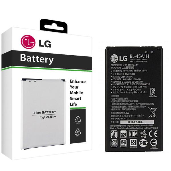 باتری موبایل مدل BL-45A1H با ظرفیت 2300mAh مناسب برای گوشی موبایل ال جی K10 2016