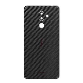 برچسب پوششی ماهوت مدل Carbon-fiber Texture مناسب برای گوشی  Nokia 7 plus