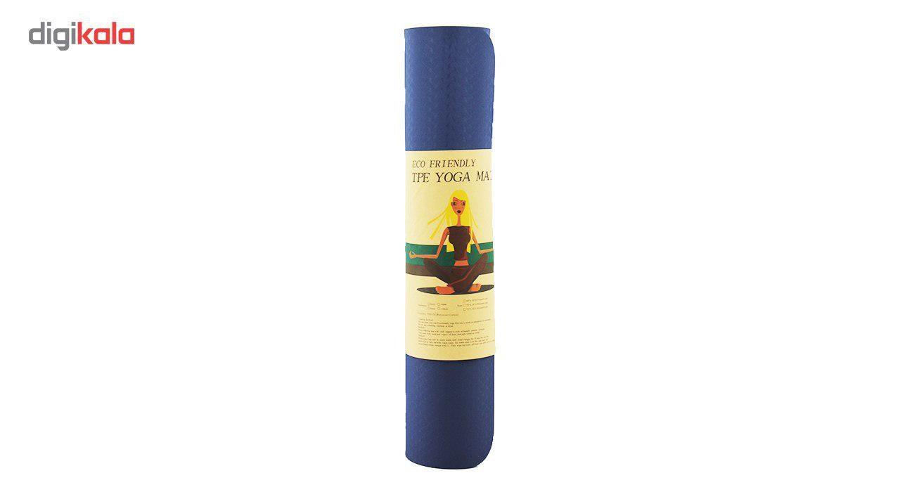 زیرانداز یوگا مدل Eco Friendly ضخامت 6 میلی متر