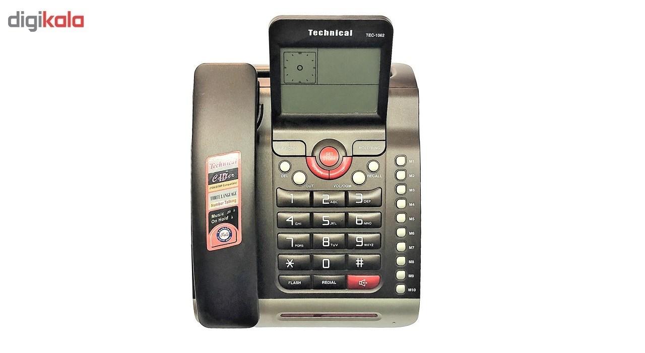قیمت                      تلفن تکنیکال مدل TEC-1062