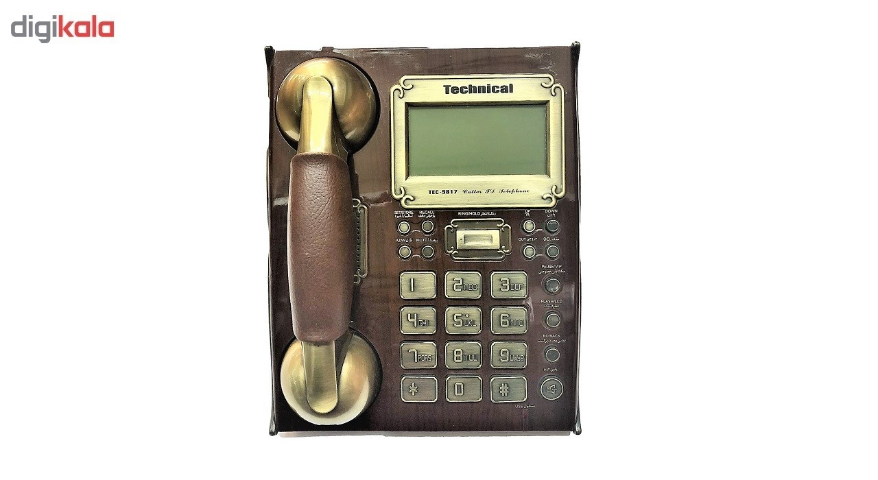 تلفن تکنیکال مدل TEC-5817