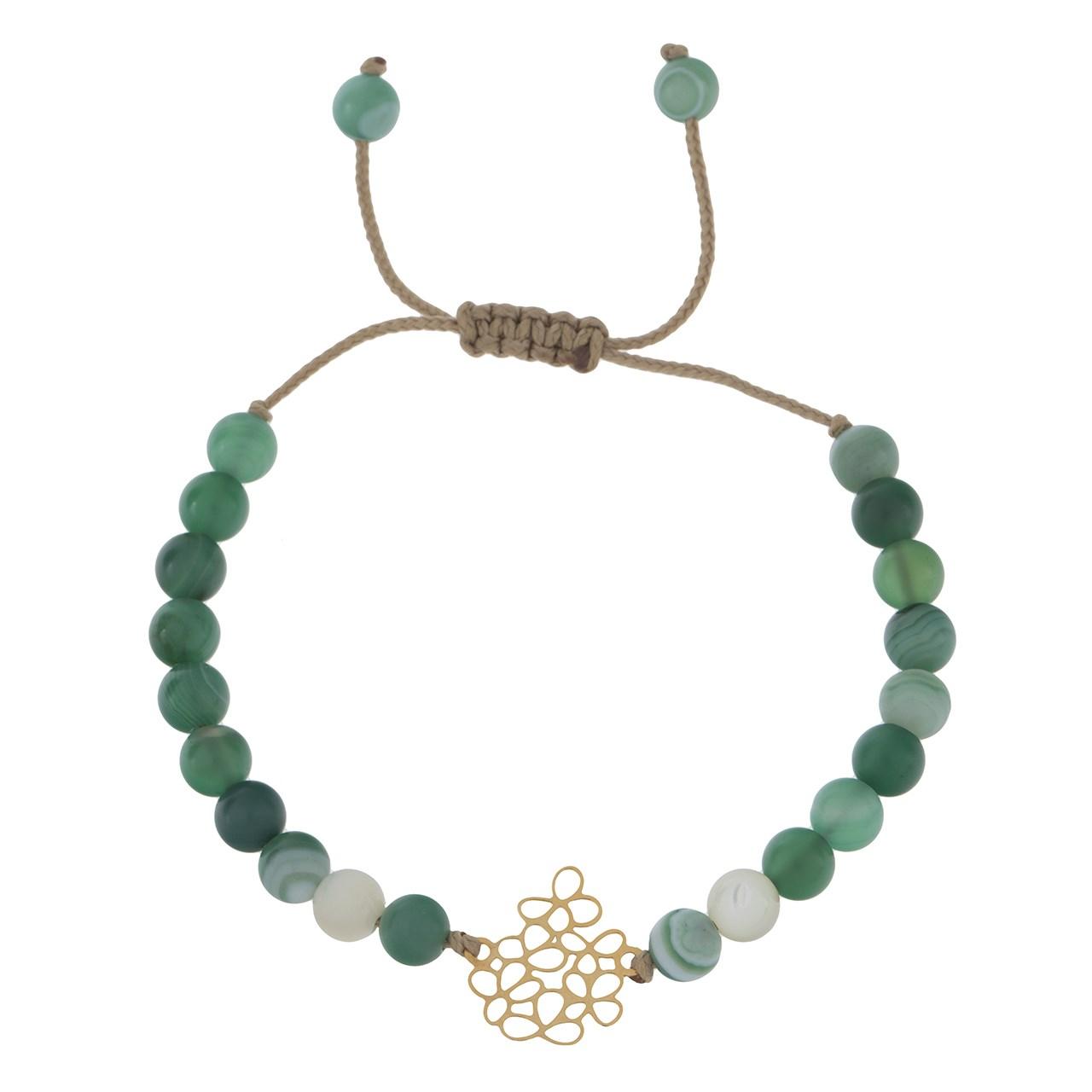 قیمت دستبند طلا 18 عیار ماهک مدل MB0545 - مایا ماهک