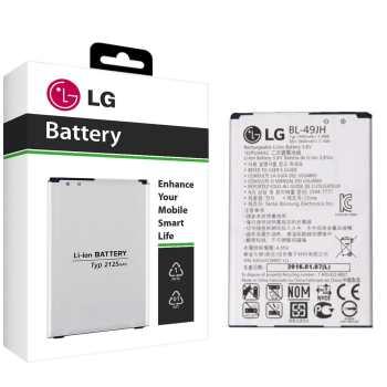 باتری موبایل مدل BL-49JH با ظرفیت 1940mAh مناسب برای گوشی های موبایل ال جی K4