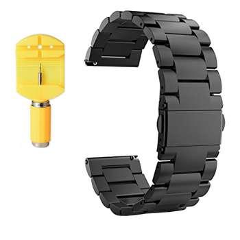 بند ساعت هوشمند مدل Ceramics-1 مناسب برای Gear S3 و galaxy watch 46 mm به همراه محافظ صفحه نمایش و   آچار برای تغییر اندازه بند