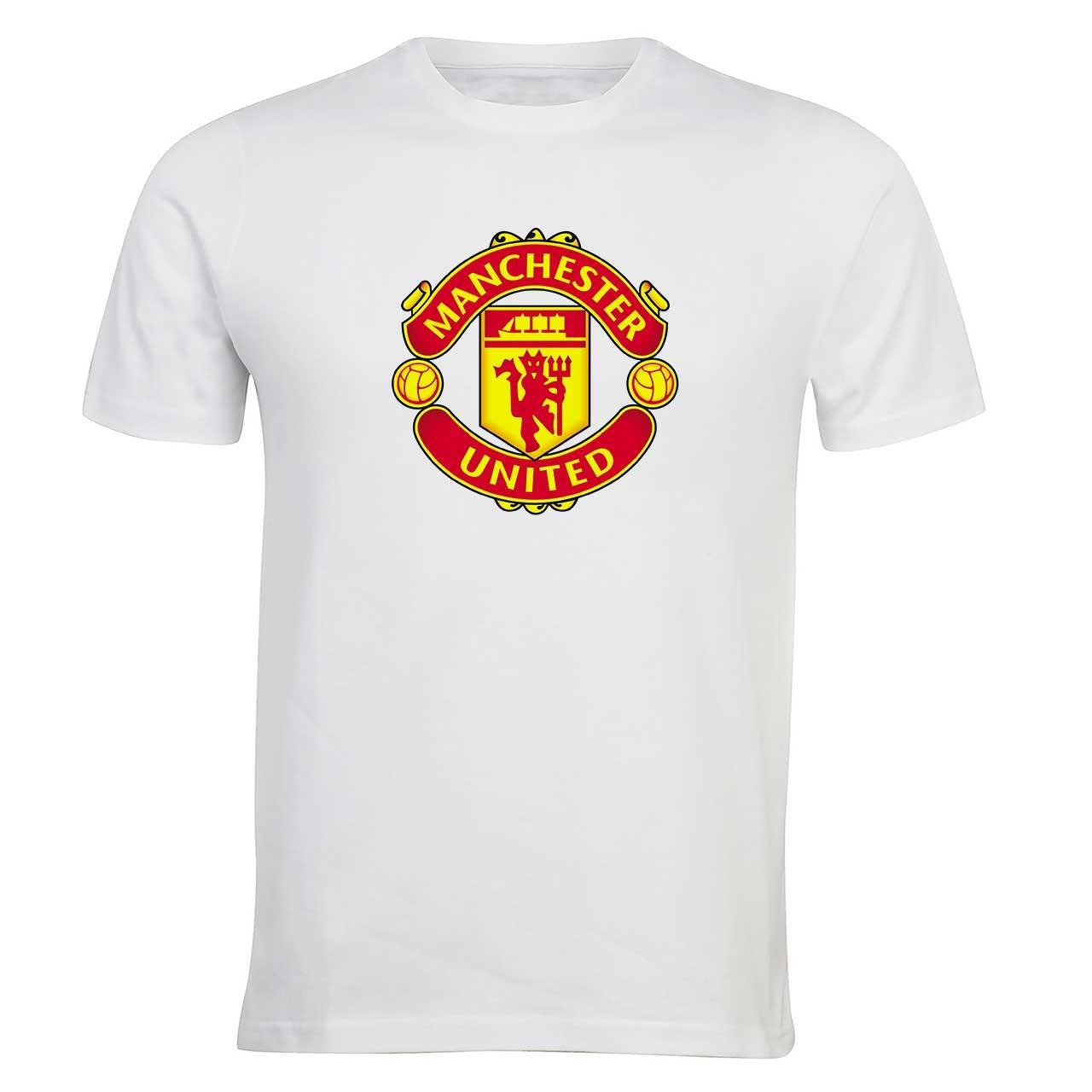 تی شرت مردانه الینور طرح پرچم باشگاه منچستر یونایتد مدل ELTM217
