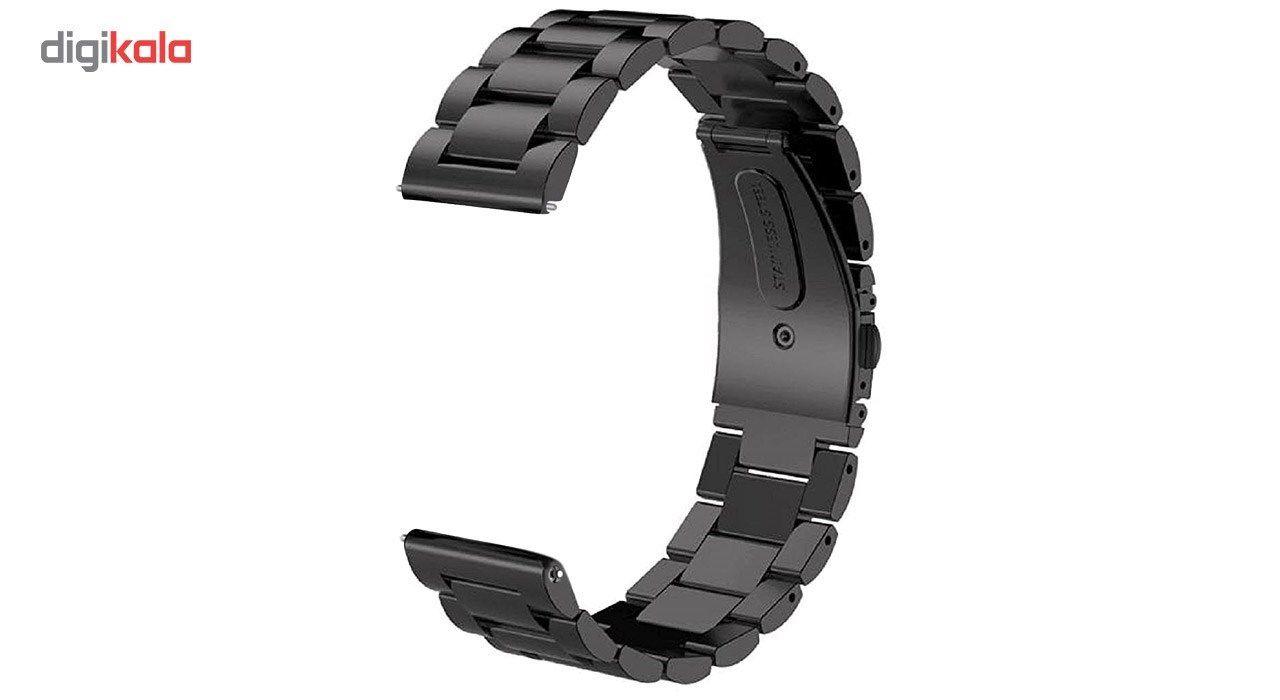 بند ساعت هوشمند مدل Ceramics-1 مناسب برای Gear S3 و galaxy watch 46 mm به همراه محافظ صفحه نمایش و   آچار برای تغییر اندازه بند  main 1 2