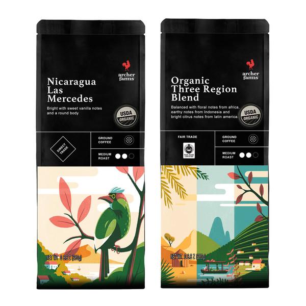 قهوه نیکاراگوئه و سهمنطقه آرچر فارمز مجموعه ۲ عددی