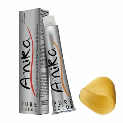 تصویر رنگ مو آنیکا سری بژ مدل بلوند بژ خیلی خیلی روشن شماره 10.31