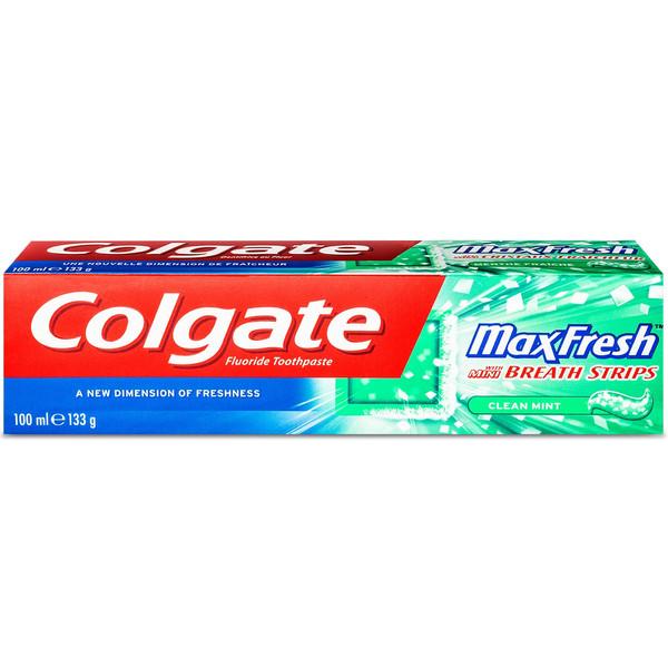 خمیر دندان کلگیت مدل Max Fresh Green حجم 100 میلی لیتر