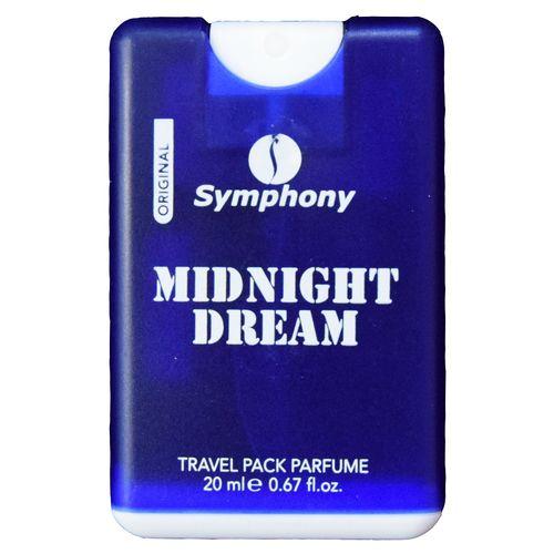 ادکلن جیبی مردانه سیمفونی مدل Mid Night Dream  حجم 20 میلی لیتر
