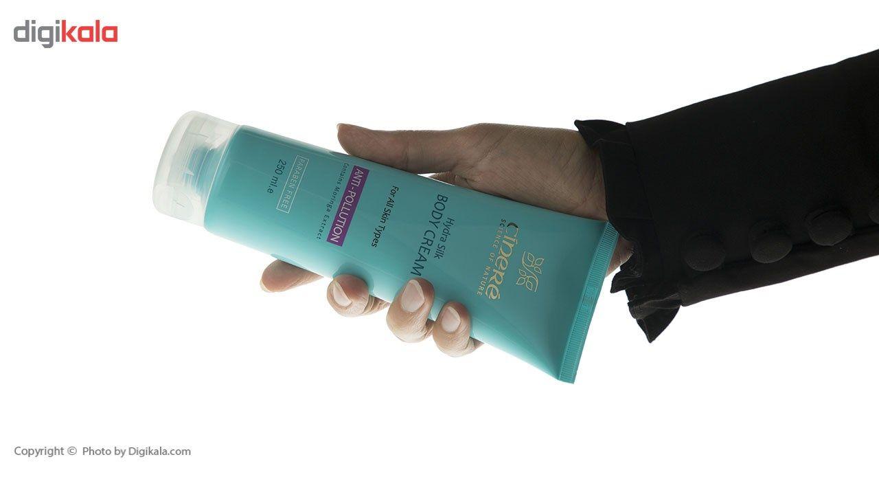 کرم بدن ضد آلودگی هوای سینره سری Hydra Silk حجم 250 میلی لیتر main 1 3