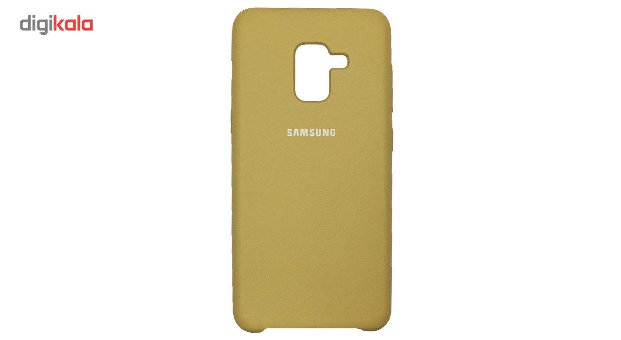کاور سیلیکونی مناسب برای گوشی موبایل سامسونگ Galaxy A8 2018 main 1 8