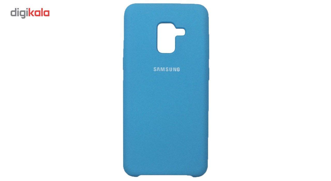 کاور سیلیکونی مناسب برای گوشی موبایل سامسونگ Galaxy A8 2018 main 1 9