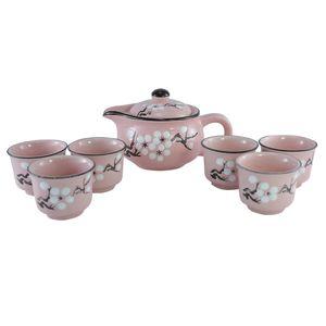 سرویس چای خوری 8 پارچه کوه شاپ مدل MM363 - 012