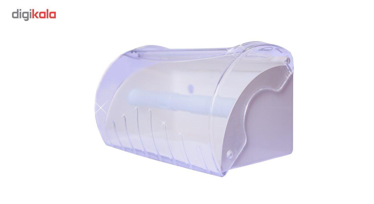 پایه رول دستمال کاغذی آویلا شفاف بزرگ main 1 1