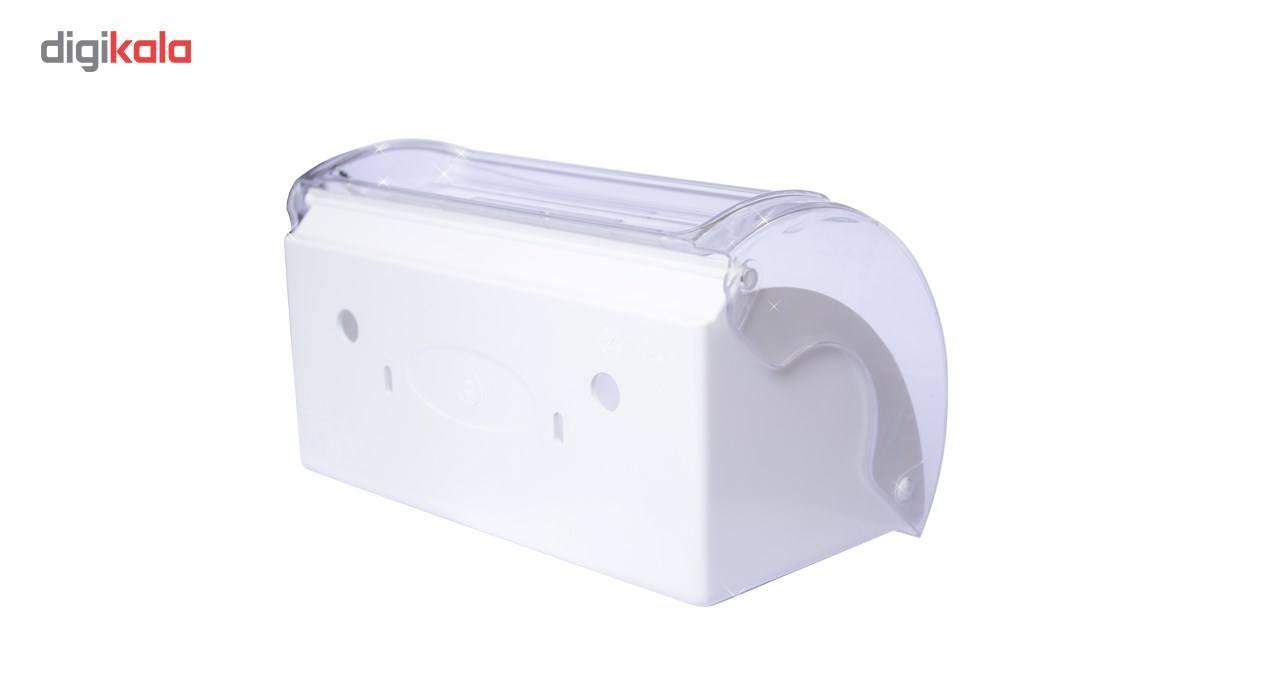 پایه رول دستمال کاغذی آویلا شفاف بزرگ main 1 2
