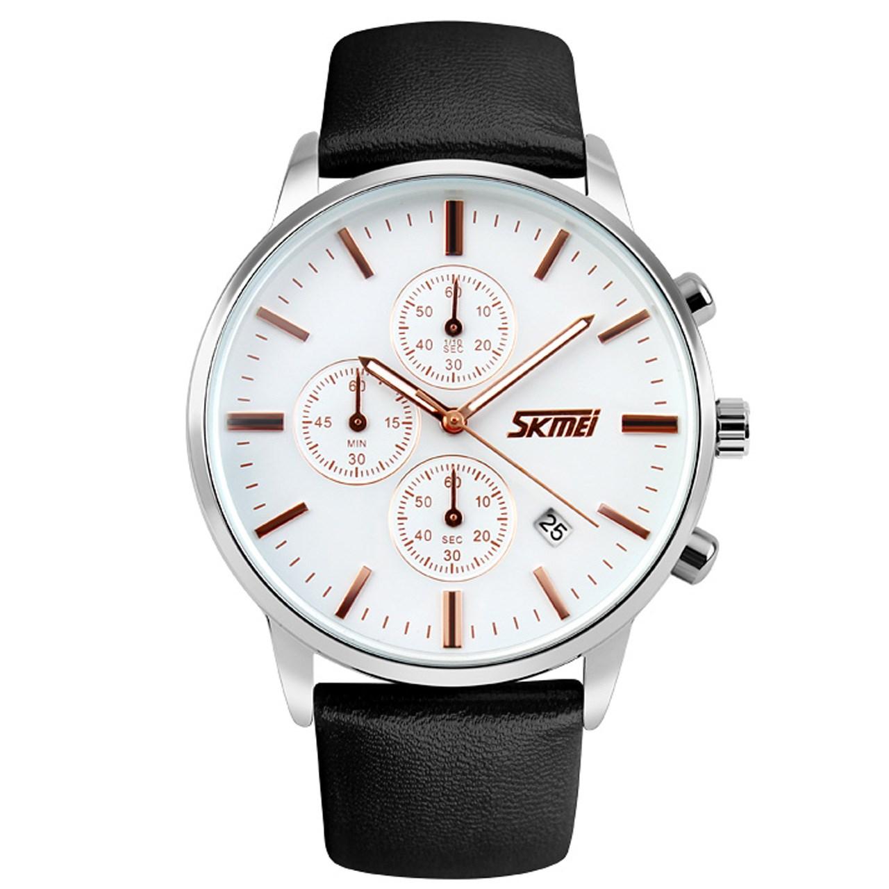 ساعت مچی عقربه ای مردانه اسکمی مدل 9103  کد 02