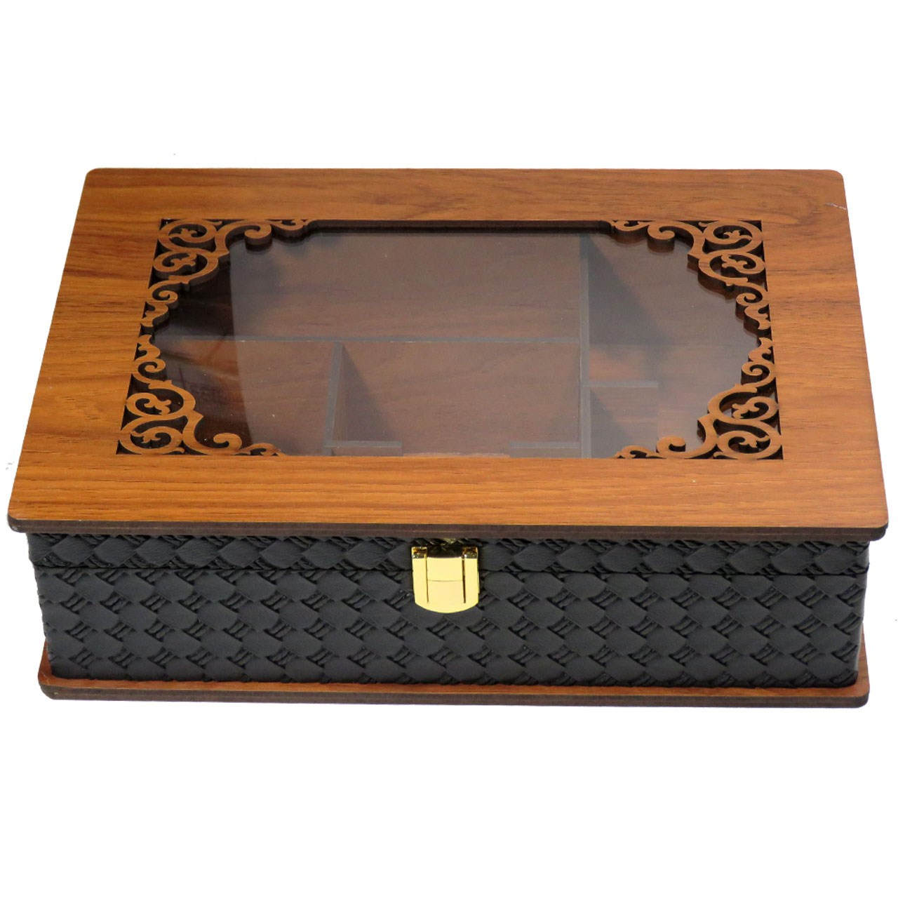 جعبه چایی کیسه ای لوکس باکس کد LBL67