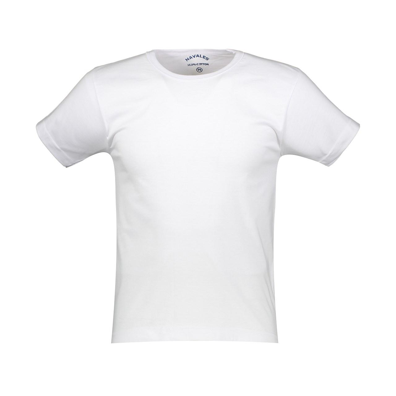 تی شرت مردانه ناوالس کدmx200WH