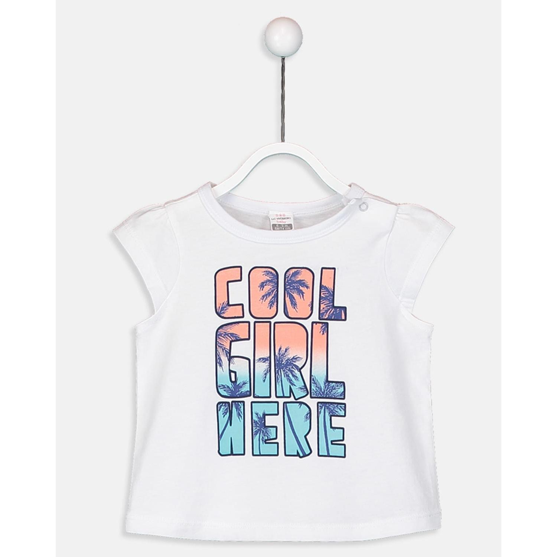 ست تی شرت و شلوارک دخترانه ال سی وایکیکی مدل 9SO753Z1 -  - 5