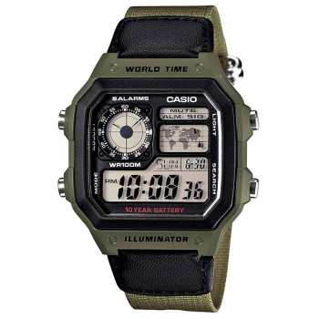 ساعت مچی دیجیتالی کاسیو مدل AE-1200WHB-3BVDF