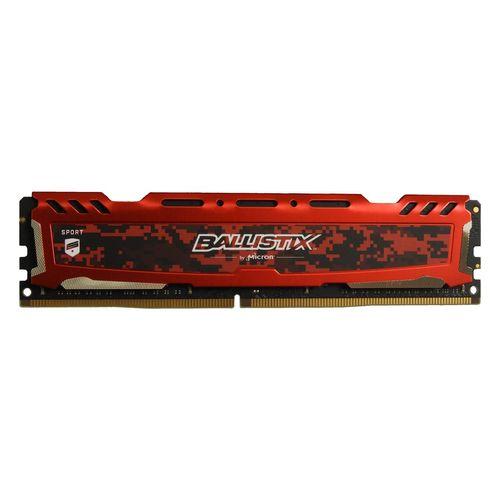 رم دسکتاپ DDR4 تک کاناله 2400 مگاهرتز CL16 کروشیال مدل Ballistix Sport ظرفیت 8 گیگابایت