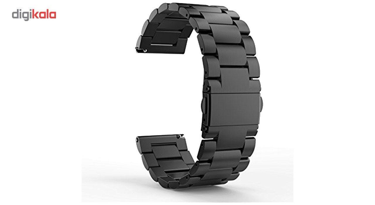 بند ساعت هوشمند مدل Ceramics-1 مناسب برای Gear S3 و galaxy watch 46 mm به همراه محافظ صفحه نمایش و   آچار برای تغییر اندازه بند  main 1 7