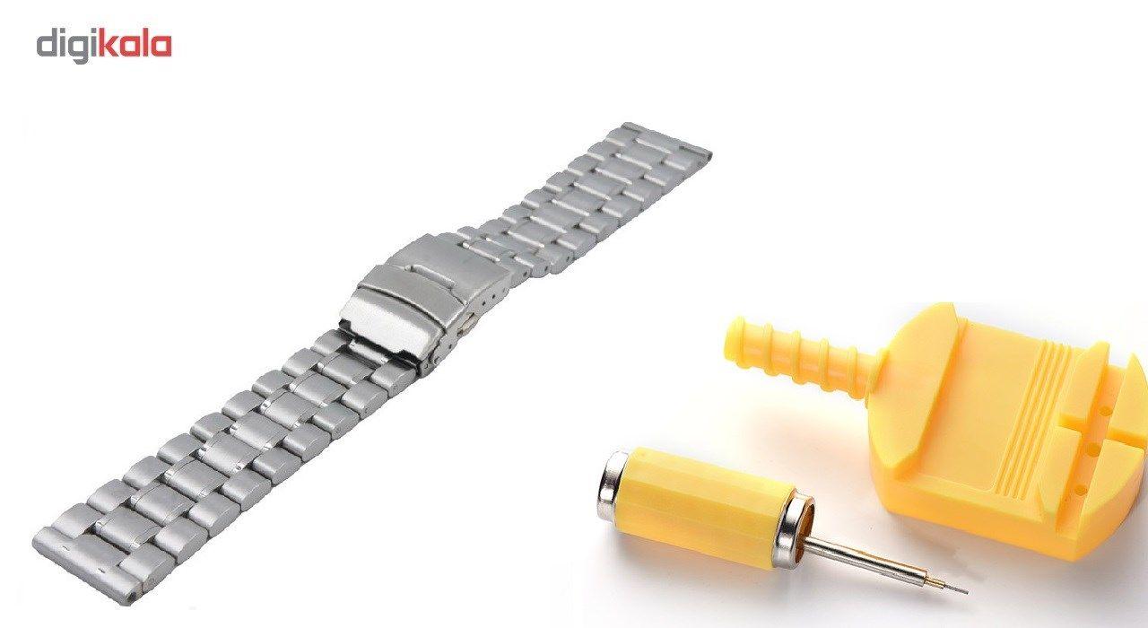 بند ساعت هوشمند مدل Ceramics-1 مناسب برای Gear S3 و galaxy watch 46 mm به همراه محافظ صفحه نمایش و   آچار برای تغییر اندازه بند  main 1 10