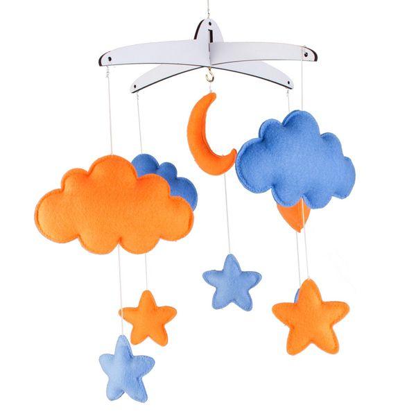 آویز تخت کودک Clouds مدل 004