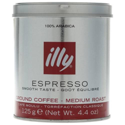 پودر قهوه مدیوم رست اسپرسو ایلی مقدار 125 گرم