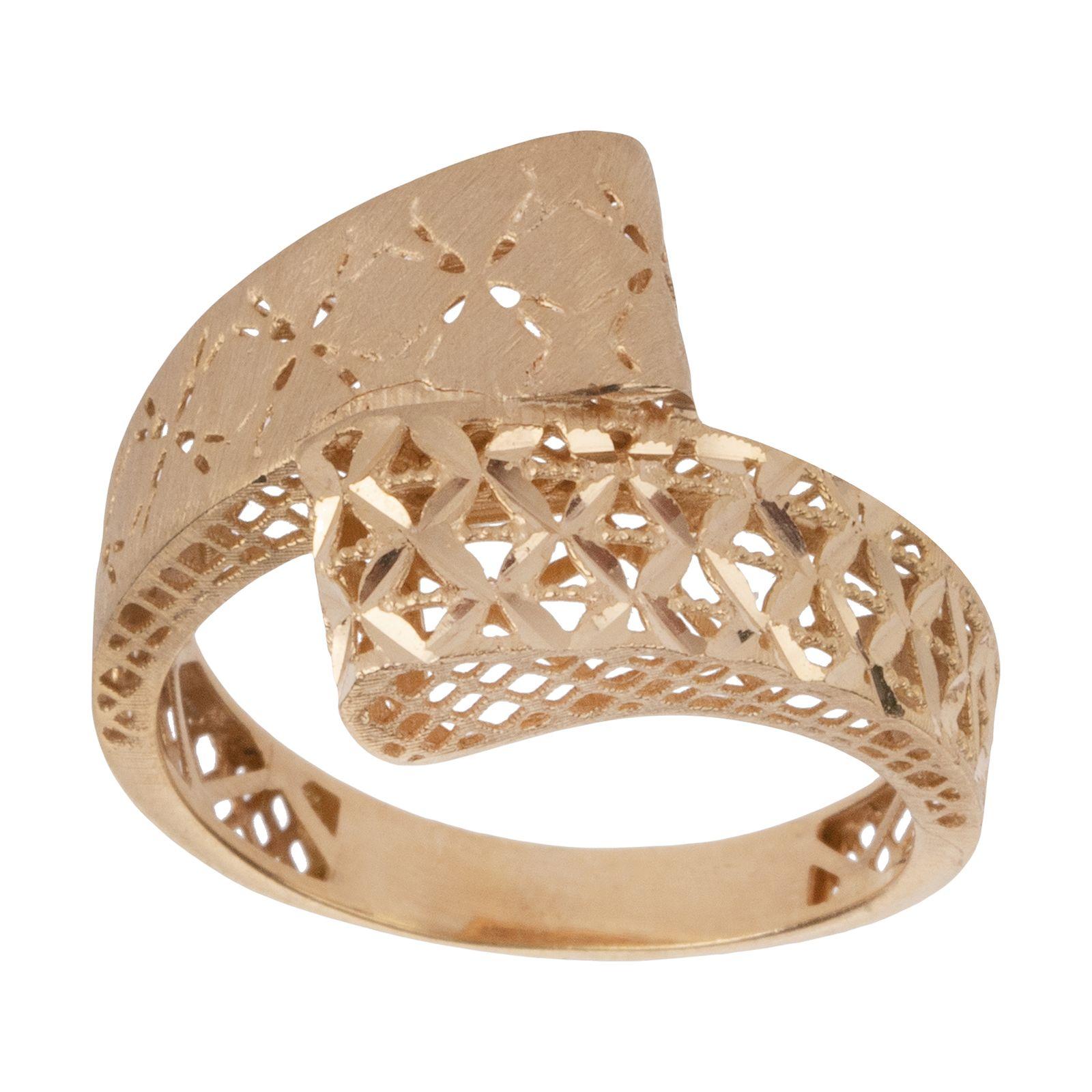 انگشتر طلا 18 عیار زنانه مایا ماهک مدل MR0379 -  - 2