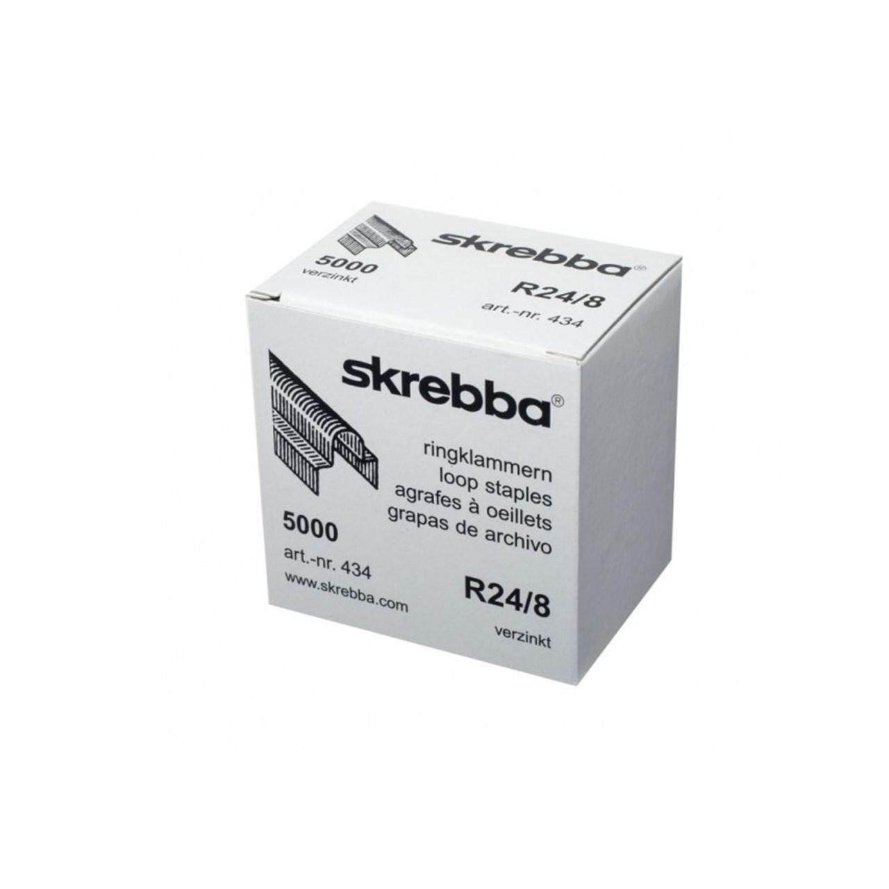 سوزن منگنه اسکربا مدل R24/8 بسته 5000 عددی