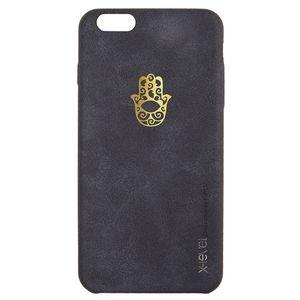 کاور چرمی ایکس لول مدل Glamour-008 مناسب برای  iphone 6 plus/6s plus