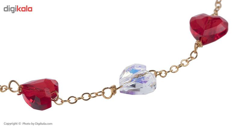 دستبند طلا 18 عیار ماهک مدل MB0795
