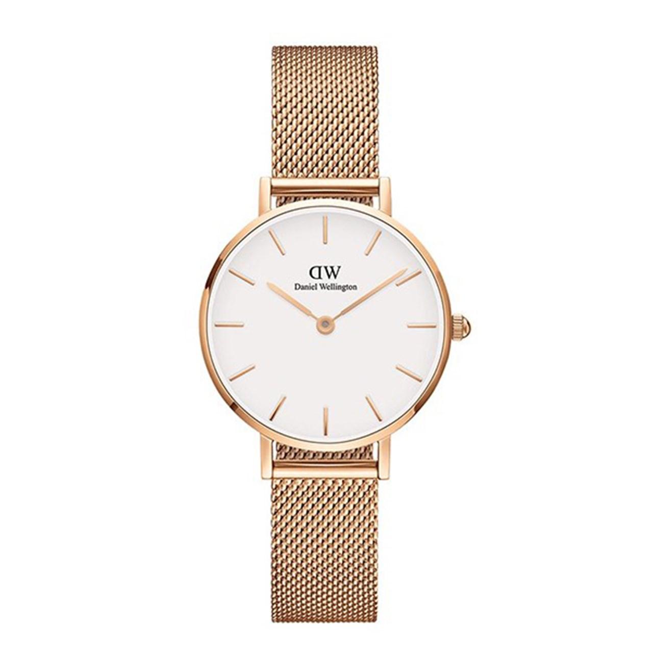 ساعت مچی عقربه ای زنانه دنیل ولینگتون مدل DW00100163