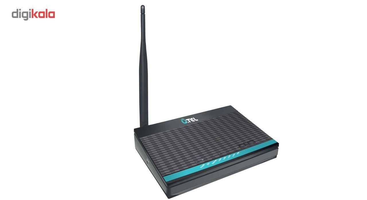 مودم روتر ADSL2 Plus بی سیم یوتل مدل A154 main 1 4