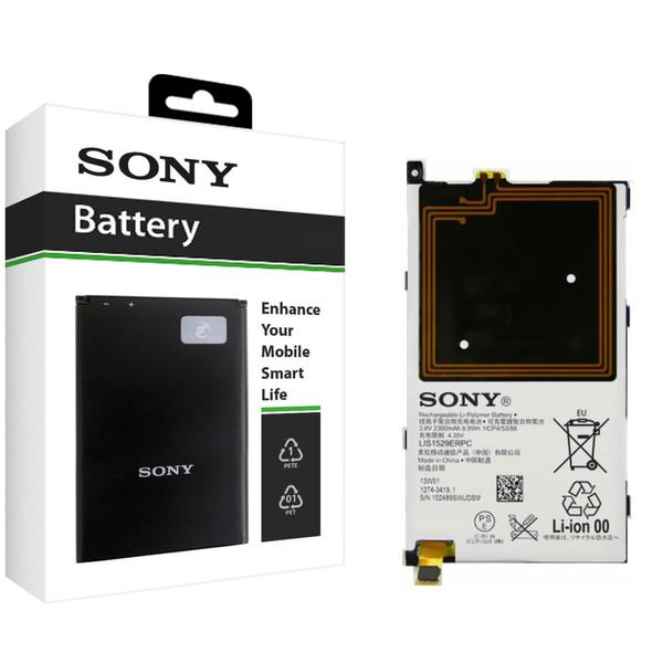 باتری موبایل سونی مدل LIS1529ERPC با ظرفیت 2300mAh مناسب برای گوشی موبایل سونی Xperia Z1 Compact