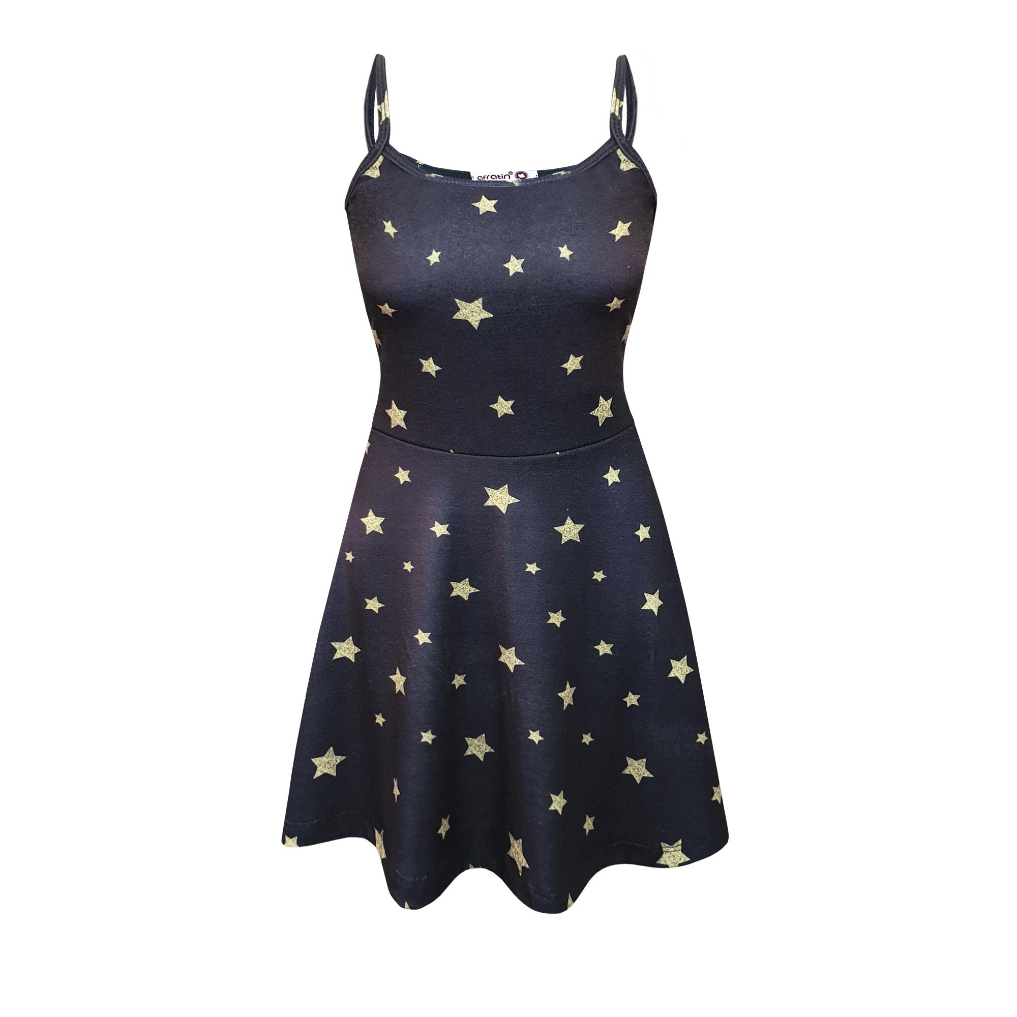 پیراهن زنانه افراتین طرح ستاره کد 9531
