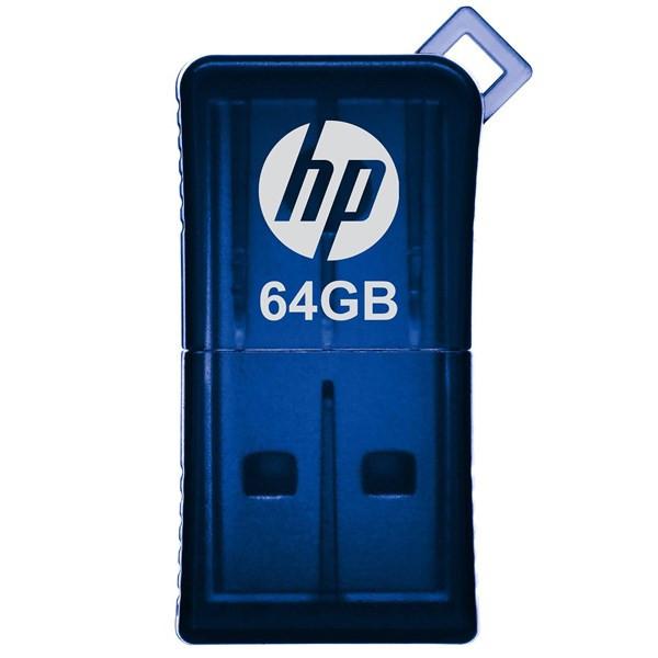 فلش مموری USB 2.0 اچ پی مدل v165w ظرفیت 64 گیگابایت
