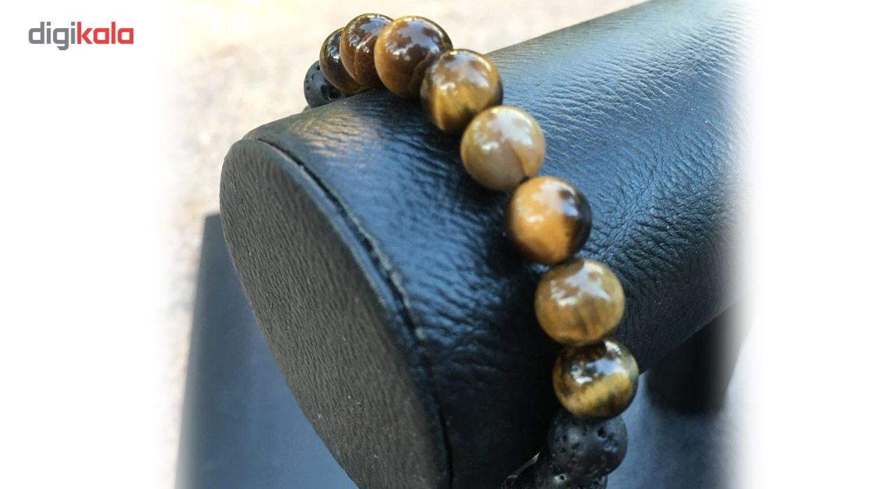 دستبند مردانه زیورآلات خرداد کد Khordad_282B