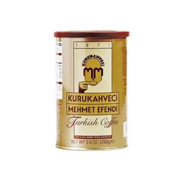 قوطی قهوه مهمت افندی مدل کلاسیک 250 گرمی