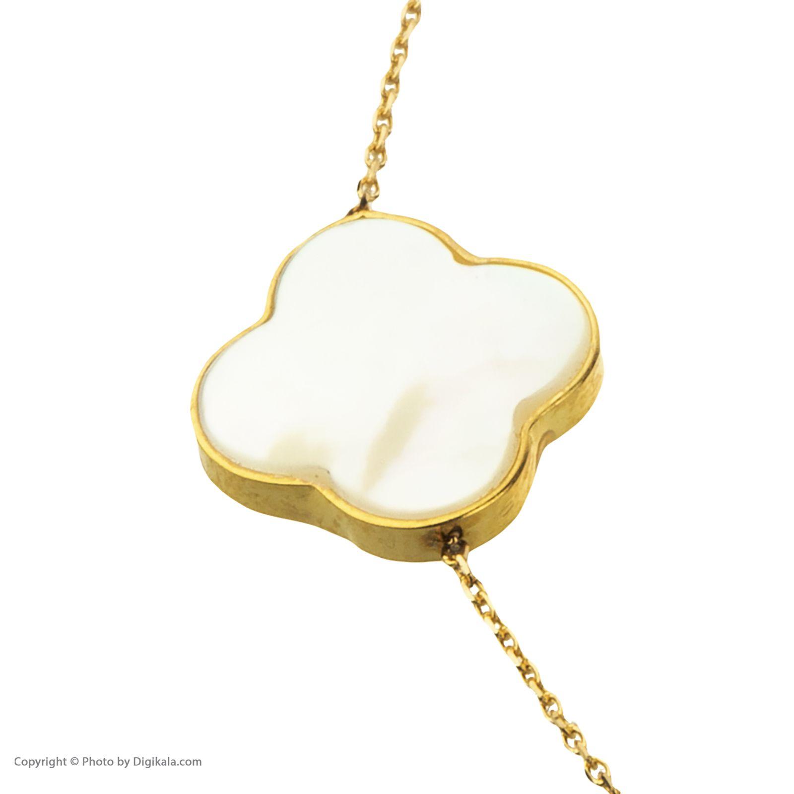 دستبند طلا 18 عیار زنانه میو گلد مدل GD627 -  - 4