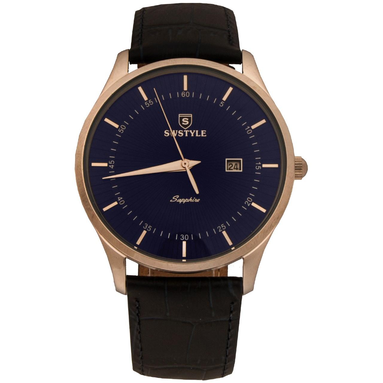 ساعت مچی عقربه ای مردانه سوییستال مدل 1026