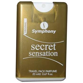 عطر جیبی زنانه سیمفونی مدل Secret Sensation حجم 20 میلی لیتر